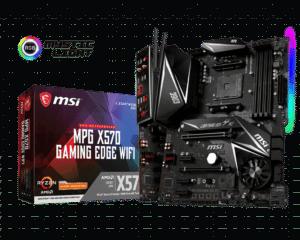 MSI MPG X570 Gaming Edge WiFi Box Promo View
