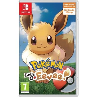 Pokémon: Let's Go Eevee! Nintendo Switch Box