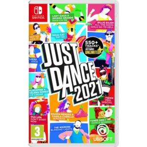 Just Dance 2021 Nintendo Switch Box