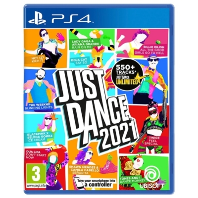 Just Dance 2021 PS4 Box