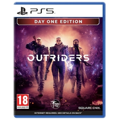 Outriders Day One Edition PS5 Box