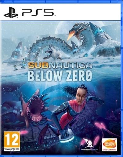 Subnautica Below Zero PS5 Box