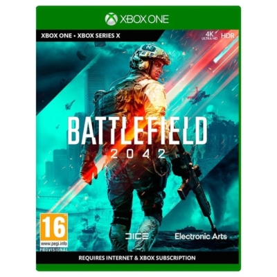 Battlefield 2042 Xbox One Box