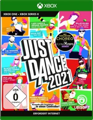 Just Dance 2021 Xbox Box