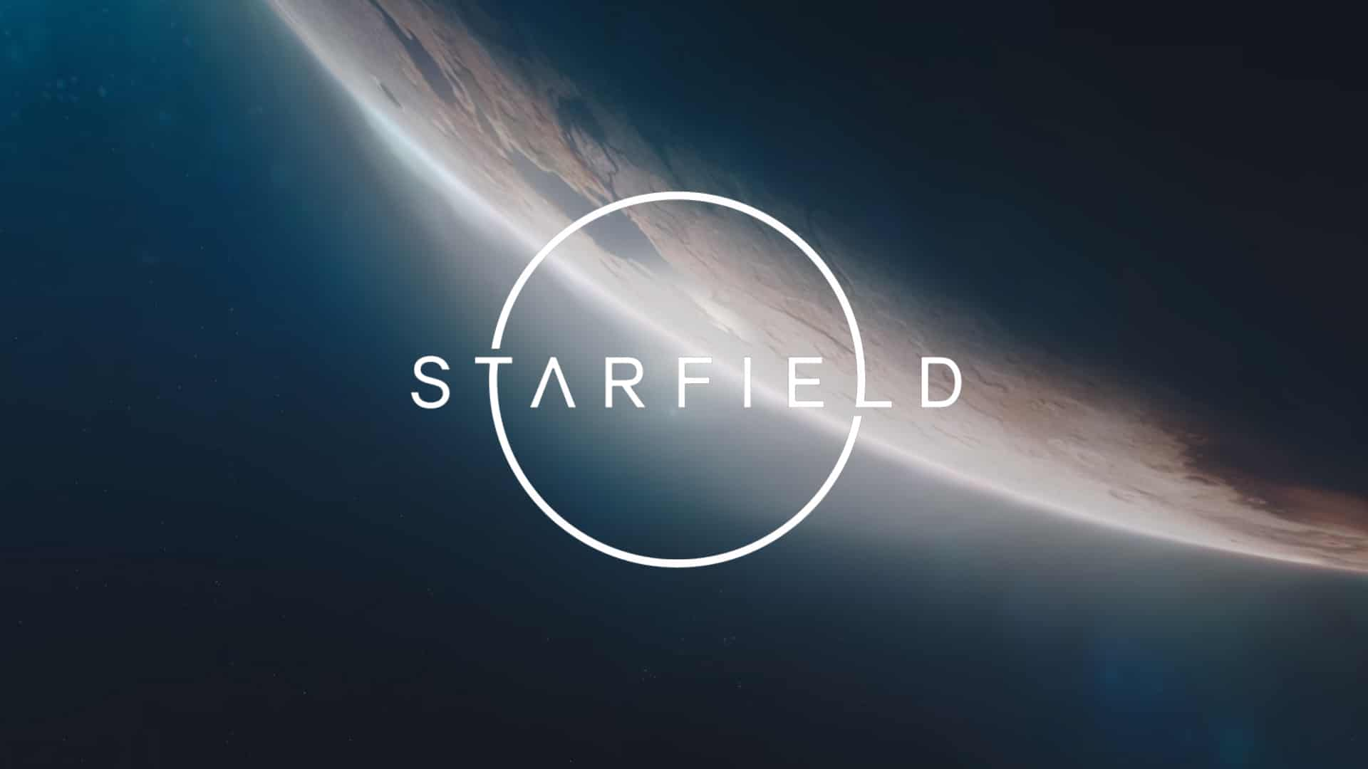 Starfield Logo Poster 8866