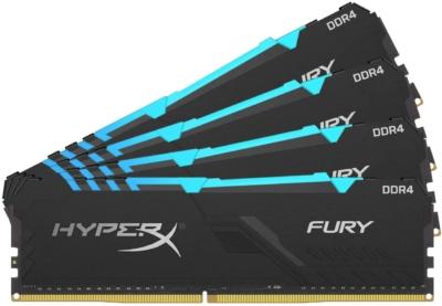 HyperX Fury RGB 32GB Memory Kit RAM Promo View