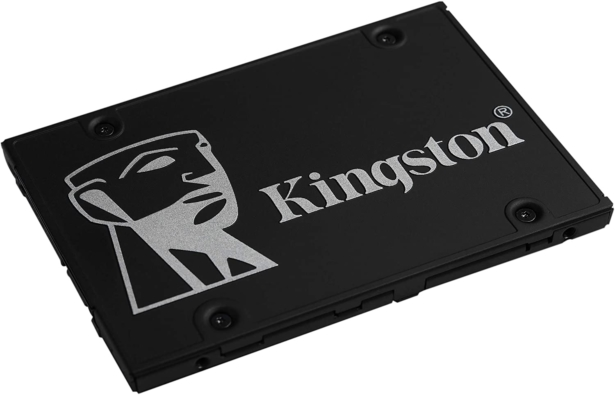 Kingston KC600 SSD Angled View