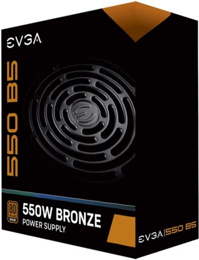EVGA 550 B5 Box View