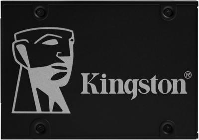 Kingston KC600 SSD Flat View