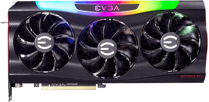 EVGA GeForce RTX 3080 FTW3 ULTRA Fan View