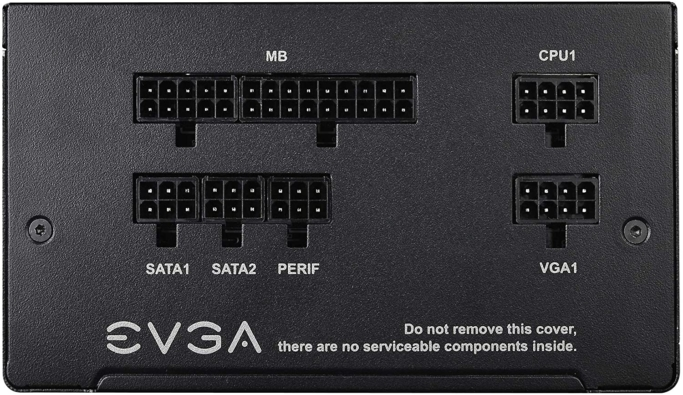 EVGA 550 B5 IO View