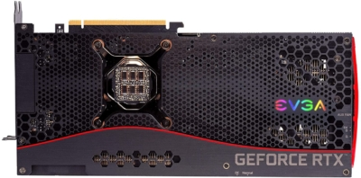 EVGA GeForce RTX 3080 FTW3 ULTRA Backplate View
