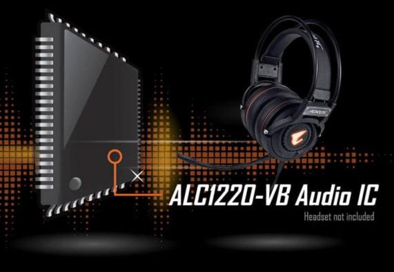 Gigabyte Motherboard Audio Poster