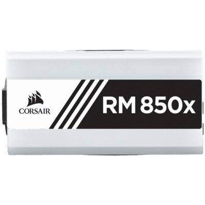 Corsair RM850x White Side View