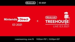 Nintendo E3 2021 Banner