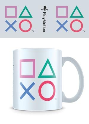 PlayStation Logo Colours Mug