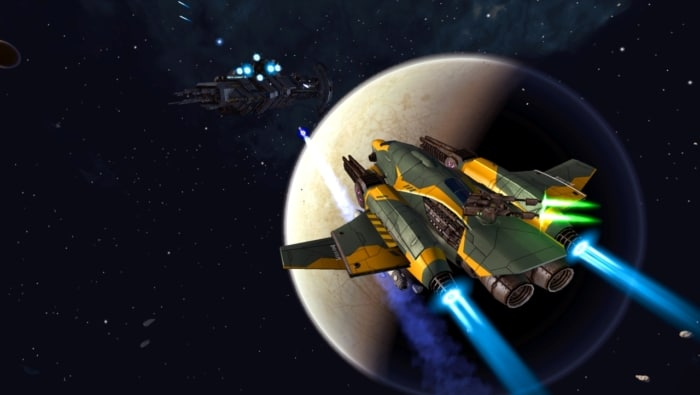 Space Commander: War and Trade Scene