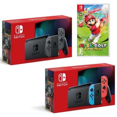 Mario Golf: Super Rush Nintendo Switch Bundle Poster