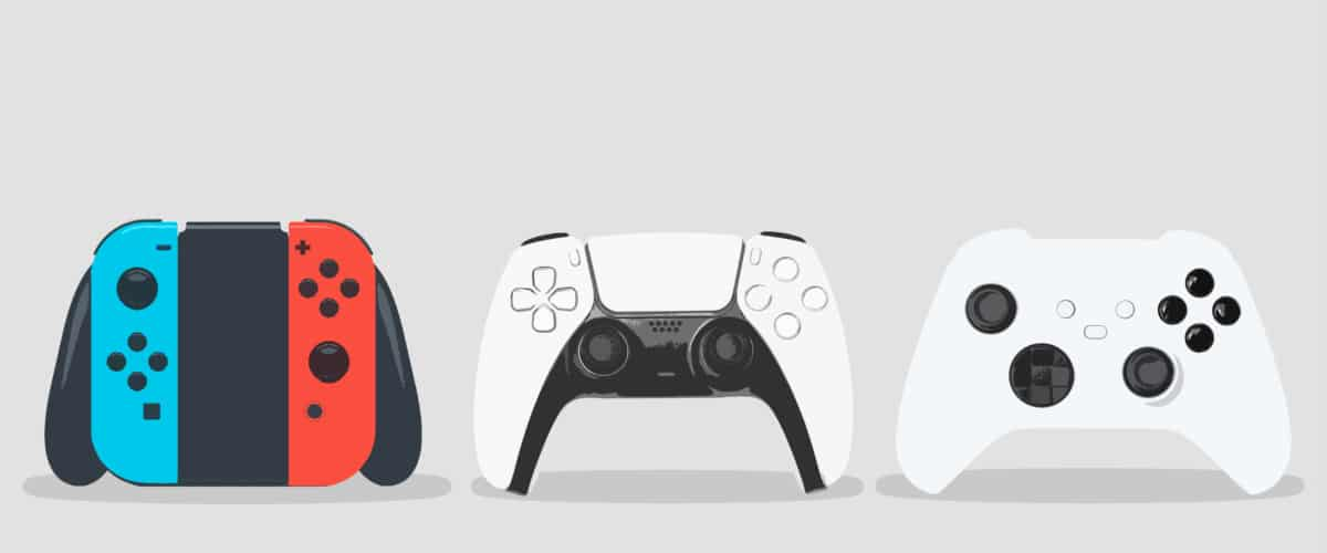 PS5, XSX, NSW Controllers