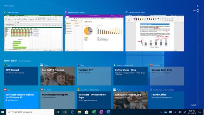 Windows 10 Home Edition OEM Screenshot 1