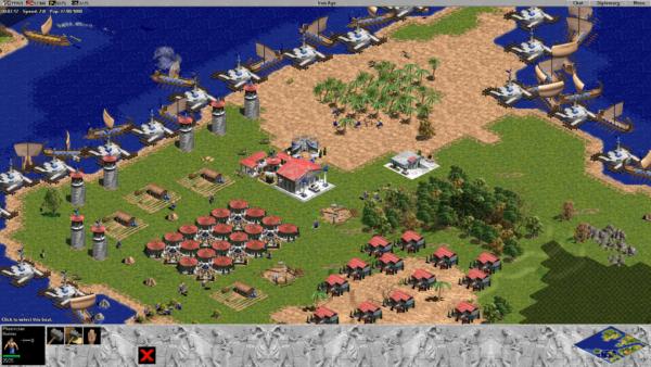 Age of Empires Game Screenshot