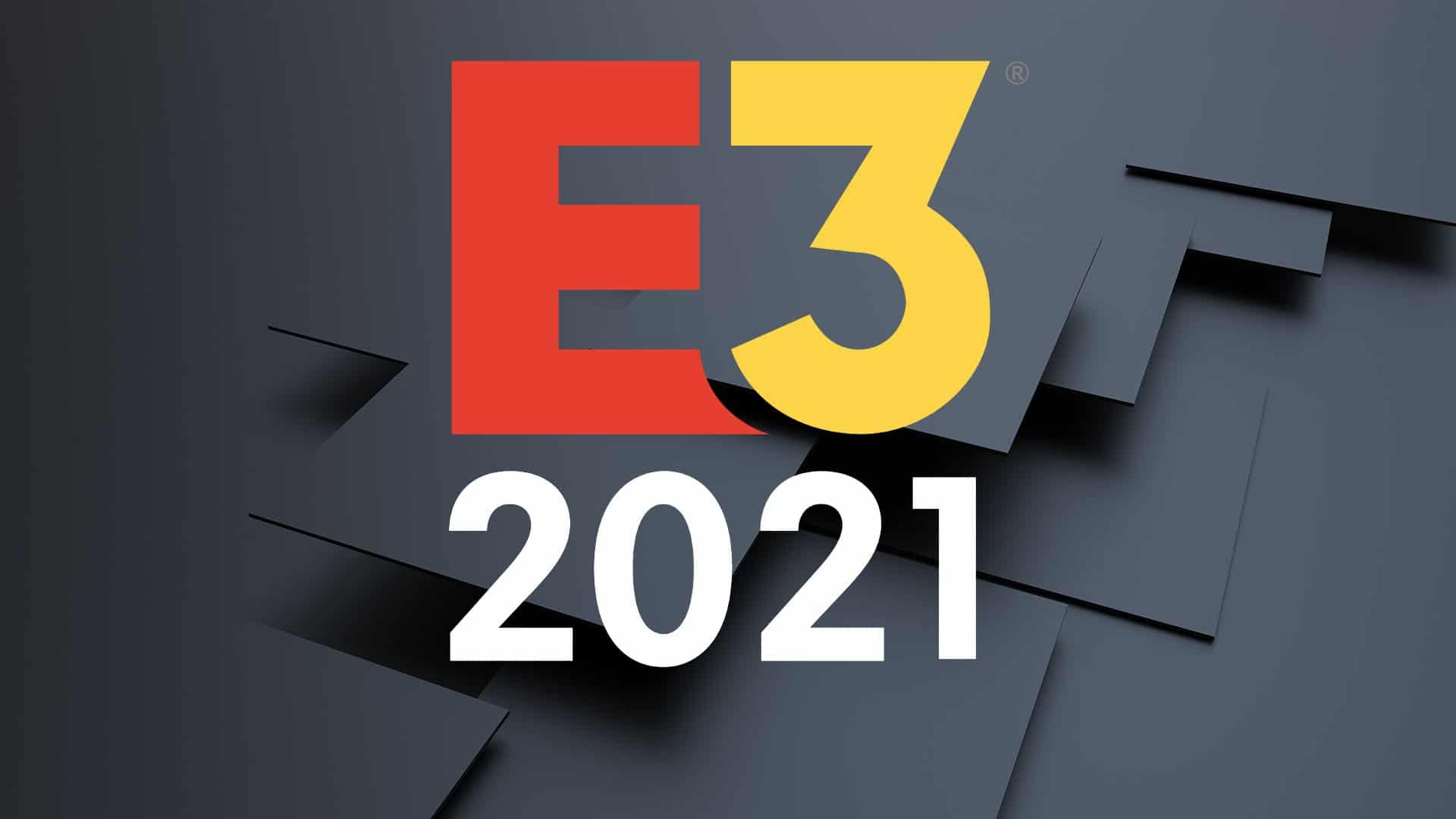 E3 2021 Logo Poster 8660