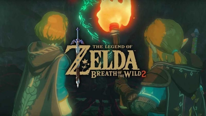 The Legend of Zelda Breath of the Wild 2 Logo Poster