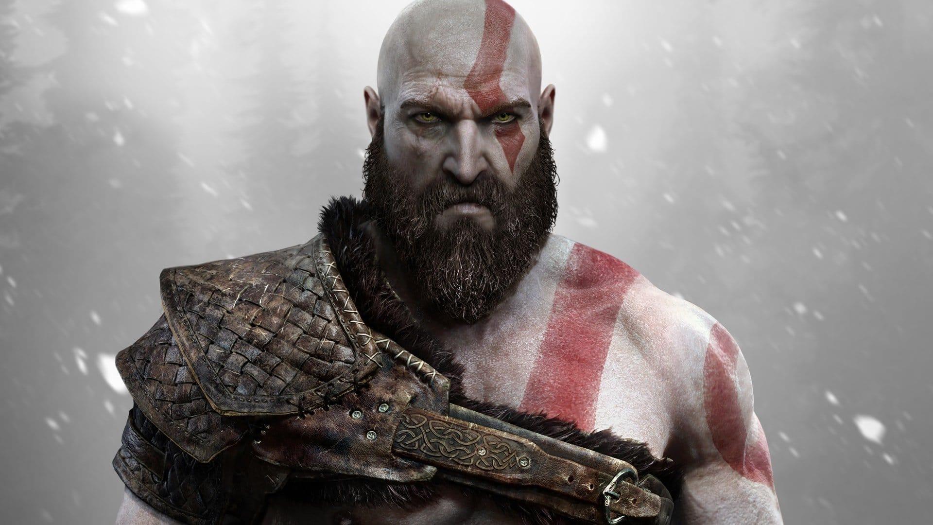 PS5 God of War Poster 8984