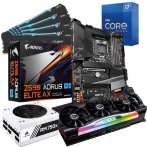 Intel 11th Gen i7 RTX 3080 Bundle Promo Poster