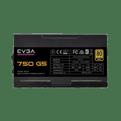 EVGA SuperNOVA 750 G5 Side View