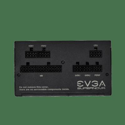 EVGA SuperNOVA 550 GA IO View