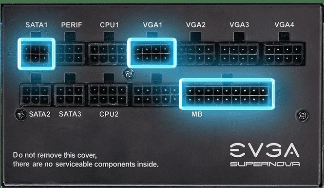 EVGA Fully Modular PSU Poster