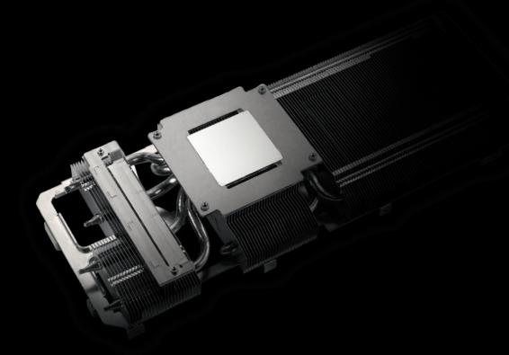 ASUS TUF Gaming GeForce RTX 3060 OC Heatsink Illustration