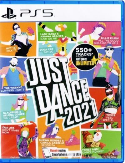 Just Dance 2021 PS5 Box