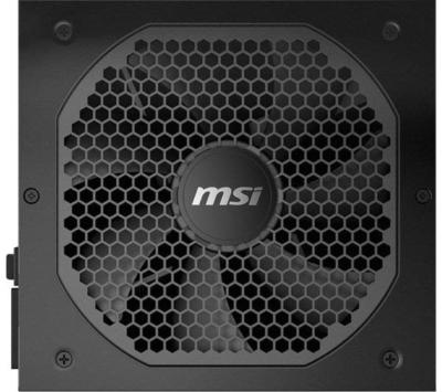 MSI MPG PSU Fan View