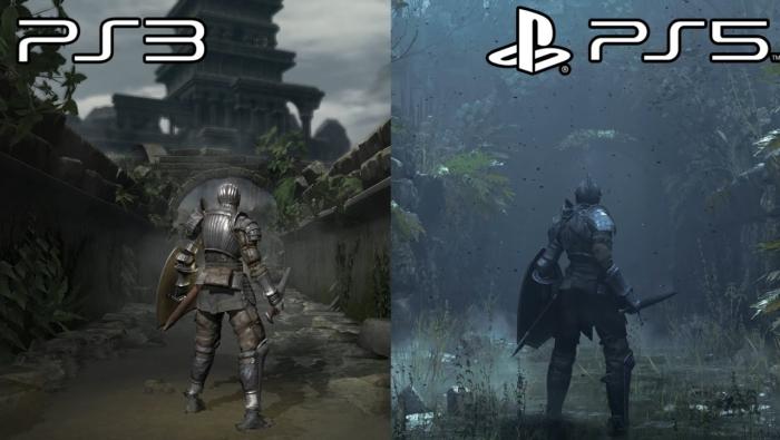 Demon's Souls PS5 vs PS3