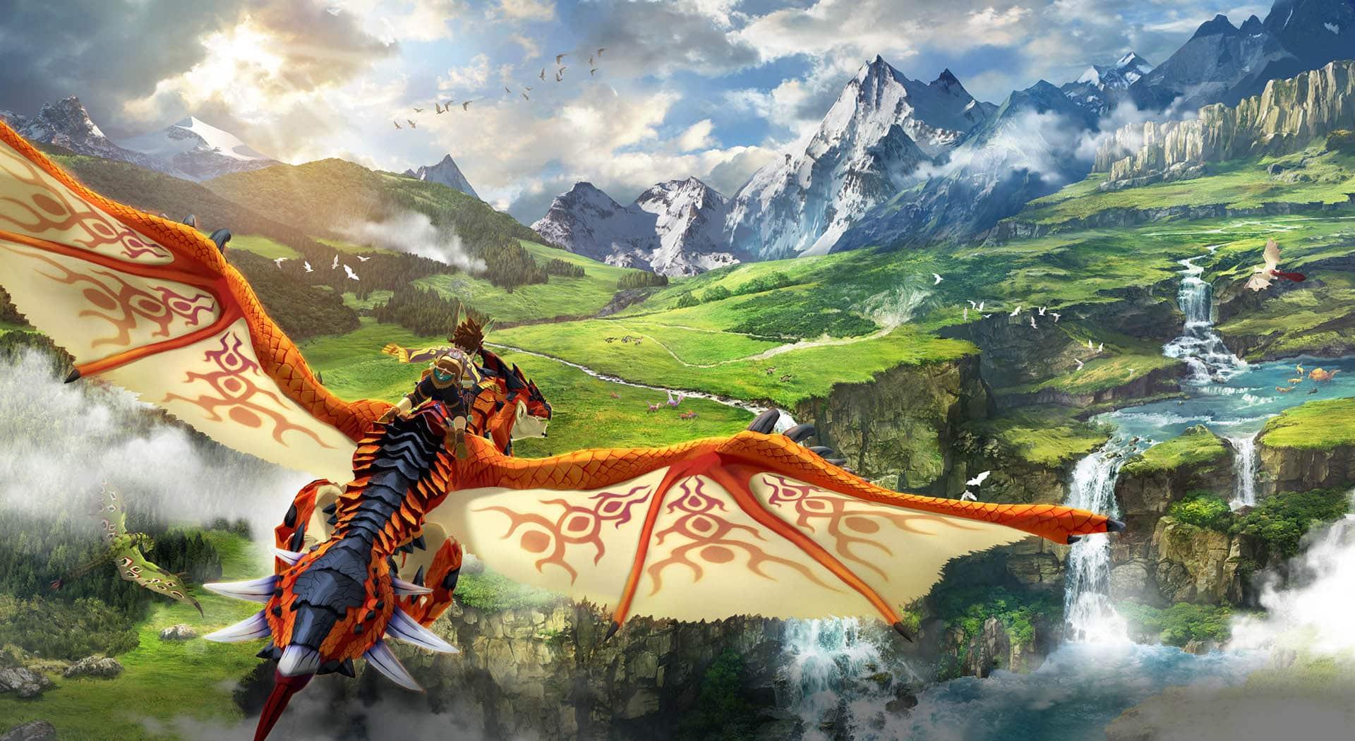 Monster Hunter Stories 2 Poster 8576