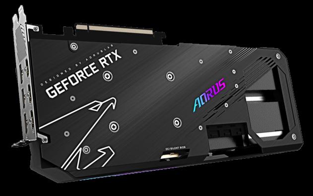 Gigabyte AORUS GeForce RTX 3070 Ti MASTER Backplate Poster