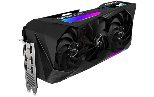 Gigabyte AORUS GeForce RTX 3070 Ti MASTER RGB Poster