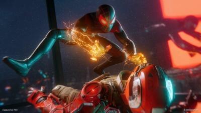Spider-Man: Miles Morales Scene 1