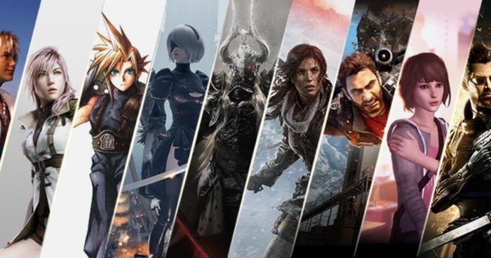Square Enix Montage Poster