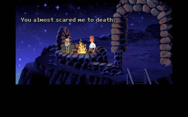 Secret of Monkey Island Screenshot