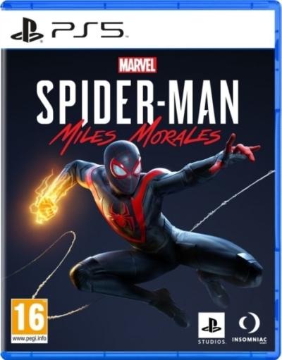Marvel's Spider-Man: Miles Morales PS5 Box