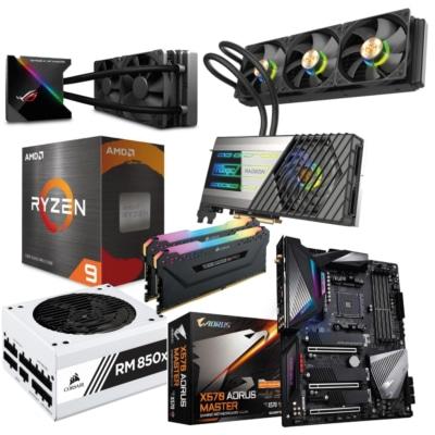 Ryzen 9 5950X RX 6900 XT TOXIC AMD Bundle
