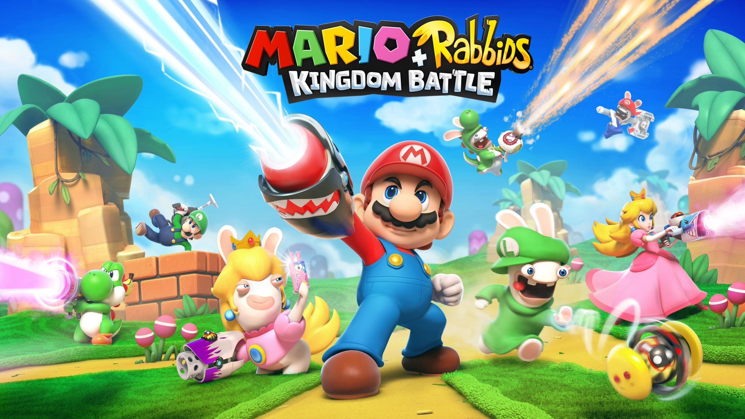 Mario & Rabbids Kingdom Battle Poster