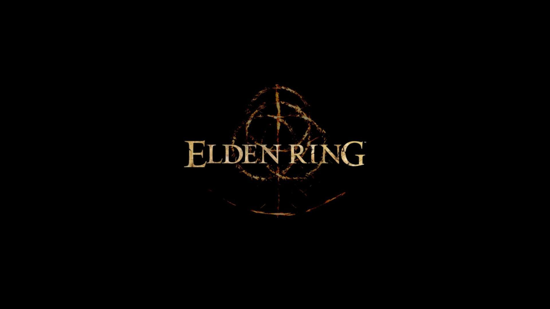 Elden Ring Logo Poster