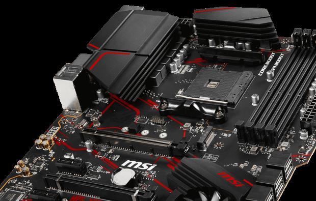 MSI X570 Gaming Plus VRM Cooling