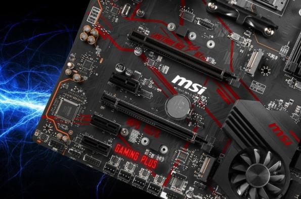 MSI X570 Gaming Plus Expansion Slots