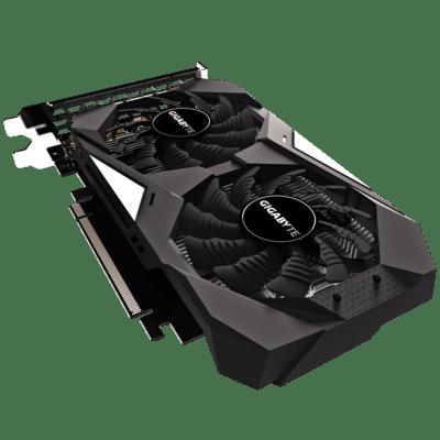 GIGABYTE GeForce GTX 1650 OC 4GB Rear Angled View