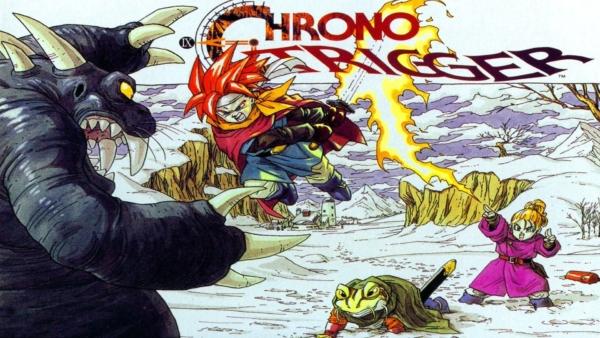 Chrono Trigger Cover Art